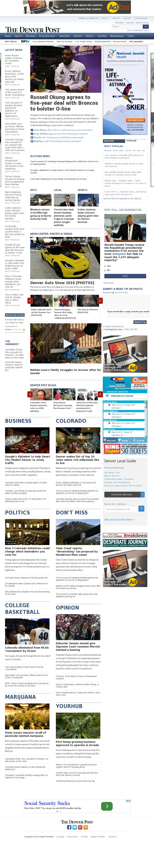 Denver Post at Thursday March 17, 2016, 10:08 p.m. UTC