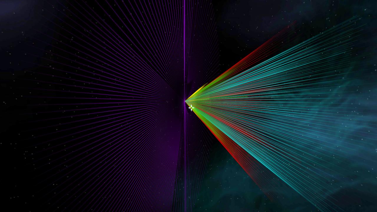 Screenshot of LaserDoodle