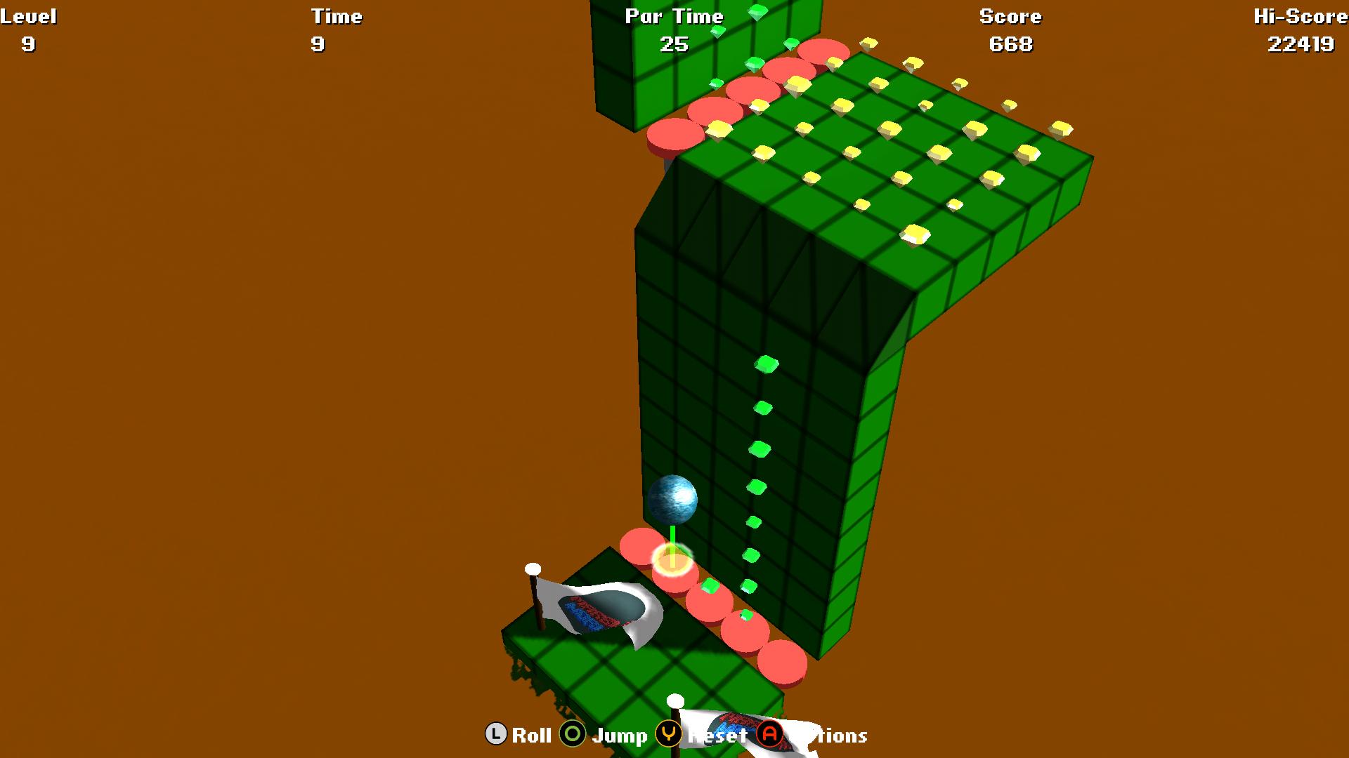 Screenshot of Marble World