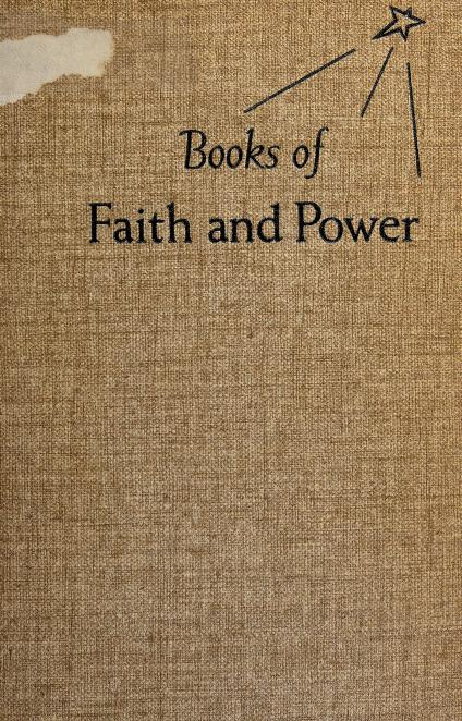 Books of faith and power by John Thomas McNeill