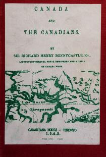 Cover of: Canada and the Canadians, in 1846 | Bonnycastle, Richard Henry Sir