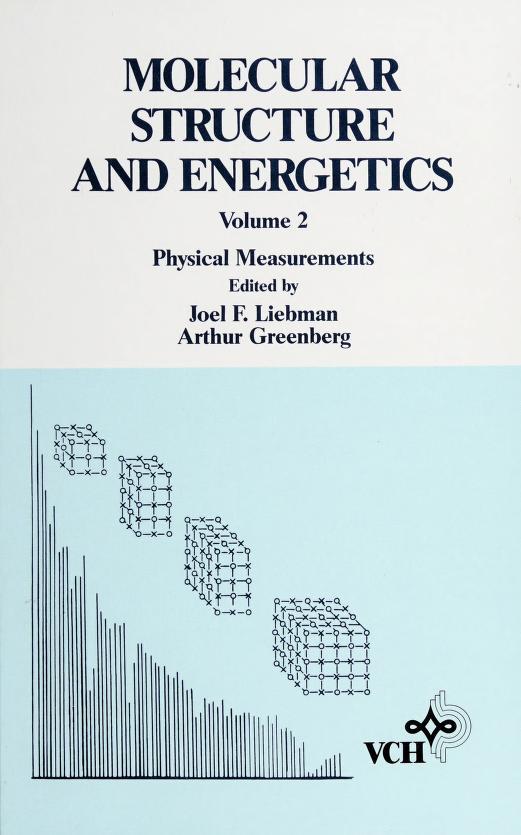 Biophysical aspects by edited by Joel F. Liebman and Arthur Greenberg.