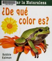 Cover of: De qué color es? | Bobbie Kalman