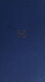 Cover of: Tangenten | Heimito von Doderer